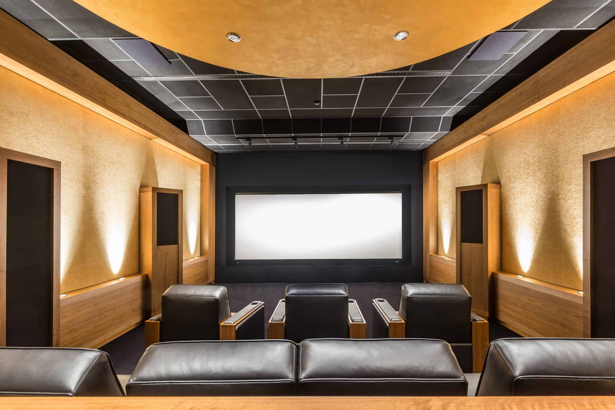 Theater Room Custom Installation